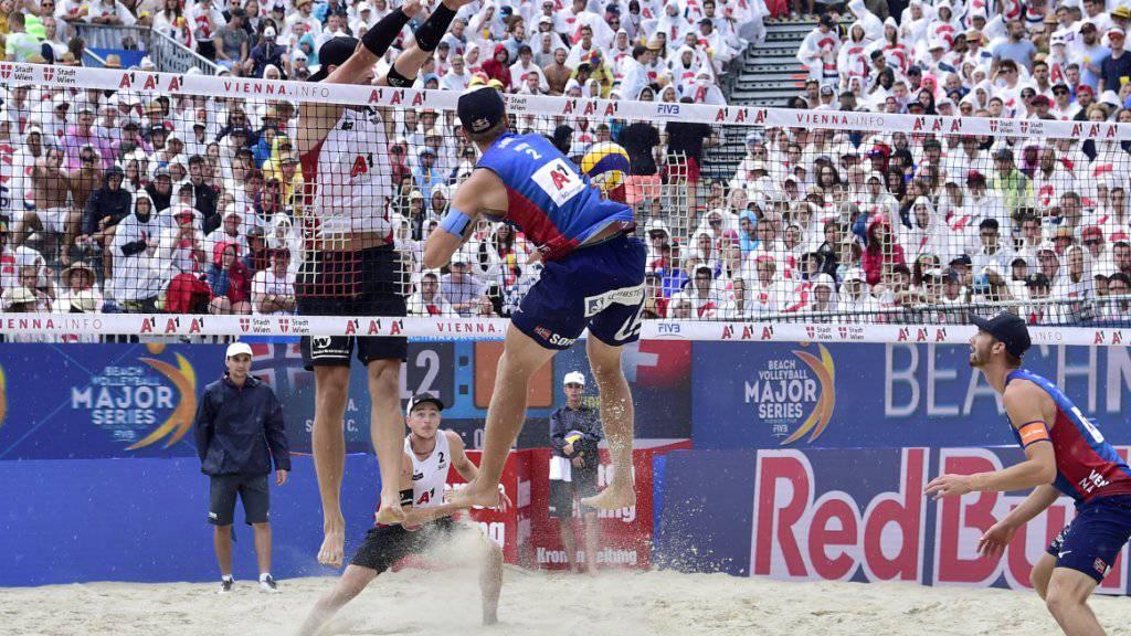 Gerson/Heidrich im Viertelfinal gestoppt