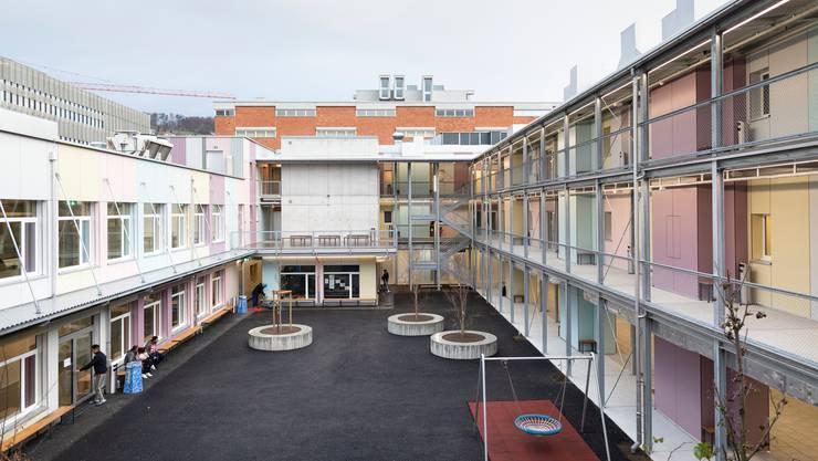 Das Bundesasylzentrum in Zürich.