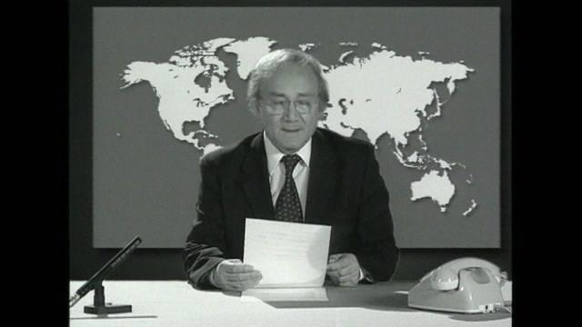 Tagesschau-Legende Huber verstorben