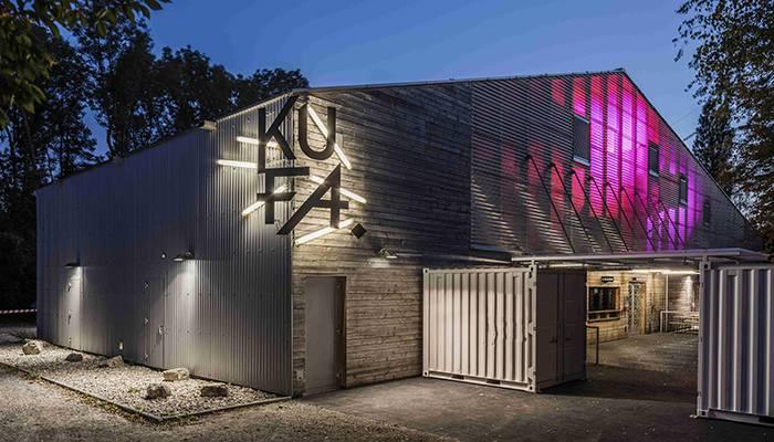 Eröffnet im 2010, die neue Kulturfabrik in Lyss.