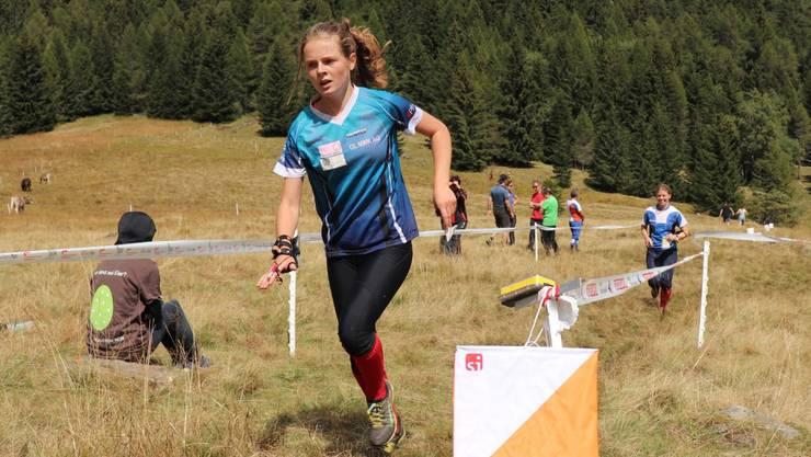 Lilly Graber ist die neue Schweizermeisterin über die Lang- und Mitteldistanz.