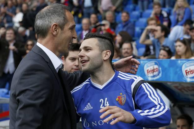 Renato Steffen trifft auf seinen alten Trainer Adi Hütter.