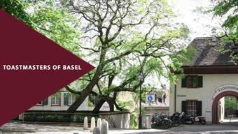 Die Toastmasters treffen sich im Schülerfoyer des Lohnhofs Basel.