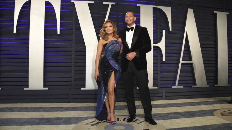 Jennifer Lopez und Alex Rodriguez.