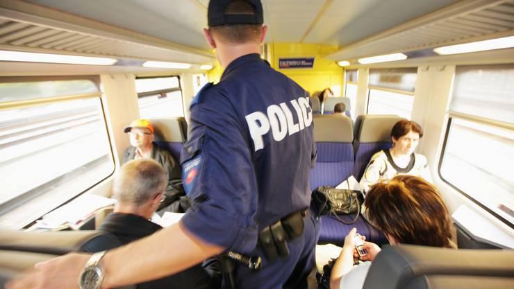 Unterwegs auf Patrouille: Die SBB investiert viel in die Sicherheit (Archivbild)