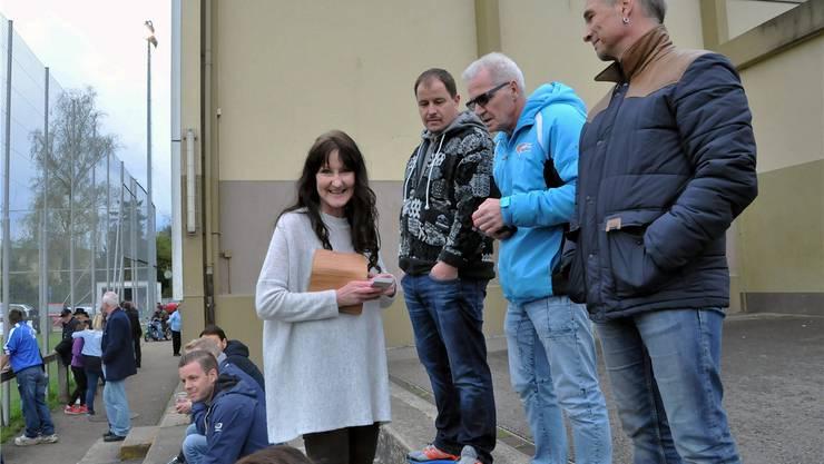 Fühlt sich in der «Männerwelt» des Fussballs wohl: Sonja Baumgartner, Präsidentin des FC Trimbach.