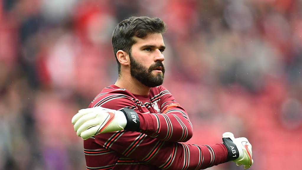 Dürfte Liverpool am Wochenende fehlen: der brailianische Goalie Alisson