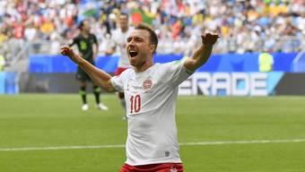 Christian Eriksen ist der Hoffnungsträger der Dänen.