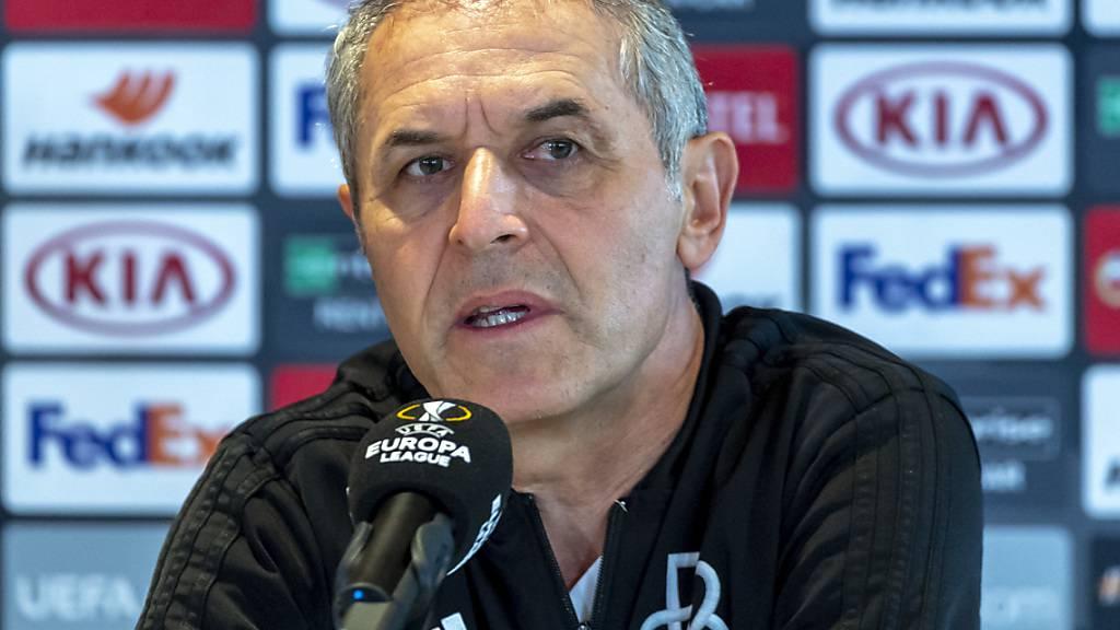 Marcel Koller führte den FC Basel in die Viertelfinals der Europa League, dennoch ist sein Verbleib beim FCB alles andere als sicher