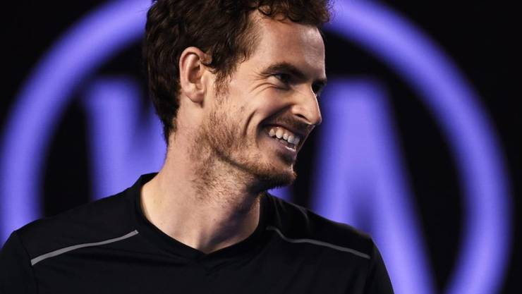 Andy Murray ist überglücklich: Am Sonntag ist er Vater einer Tochter geworden (Archiv).
