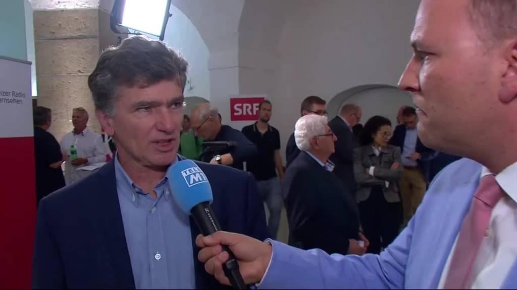 Regierungsratskandidat Severin Lüscher (Grüne) über den zweiten Wahlgang