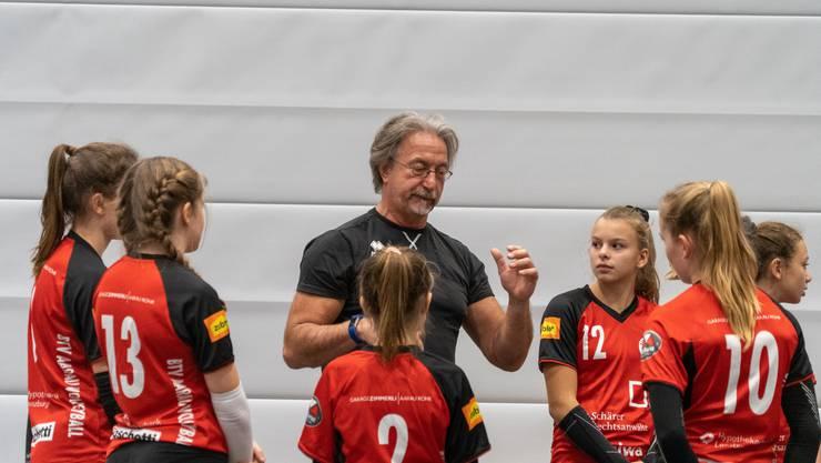 Udo Jeschke an einem U15 Turnier