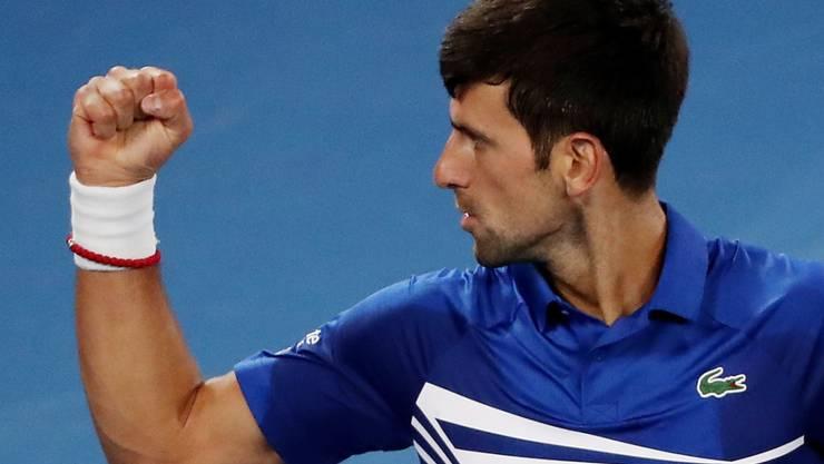 Eindrückliche Machtdemonstration: Novak Djokovic liess Rafael Nadal im Final des Australian Open nicht den Hauch einer Chance.