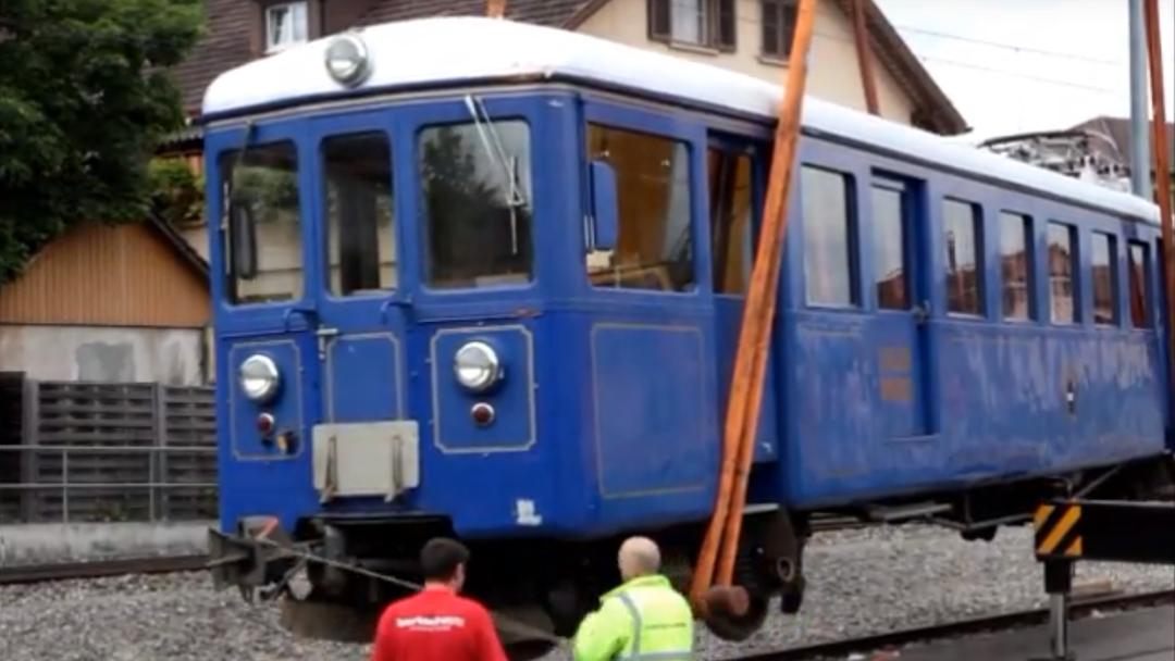 Im Juni 2012 ging der blaue WSB-Wagen in Rente.