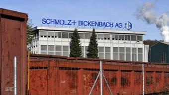 Gebäude der Stahlfirma Schmolz+Bickenbach (Archiv)