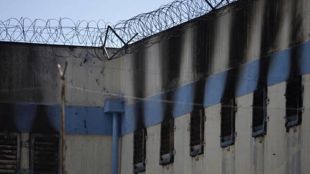 Das Gefängnis San Miguel nach dem ersten Brand