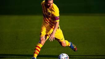 Lionel Messi bleibt für den FC Barcelona am Ball.