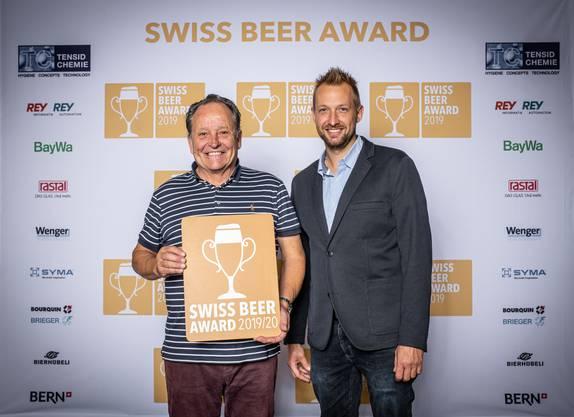 Alex Künzle und Thomas Füller von der Öufi Brauerei.