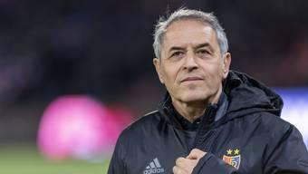 Marcel Koller ist mit dem FC Basel seit sieben Spielen ungeschlagen.