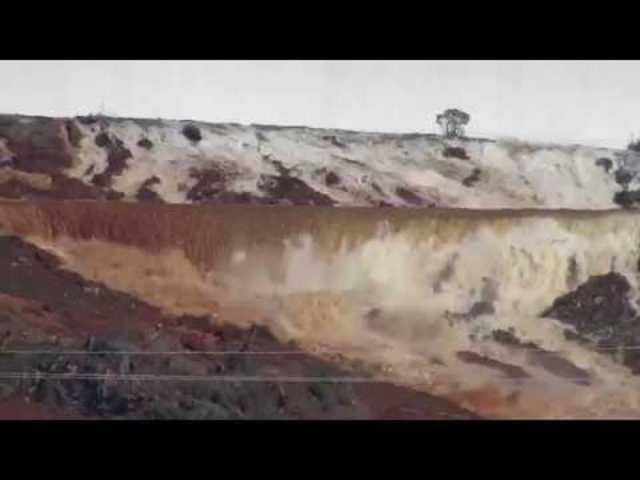 Oroville-Staudamm steht vor Zusammenbruch