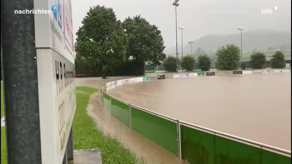 Erneut heftige Gewitter im Kanton Luzern