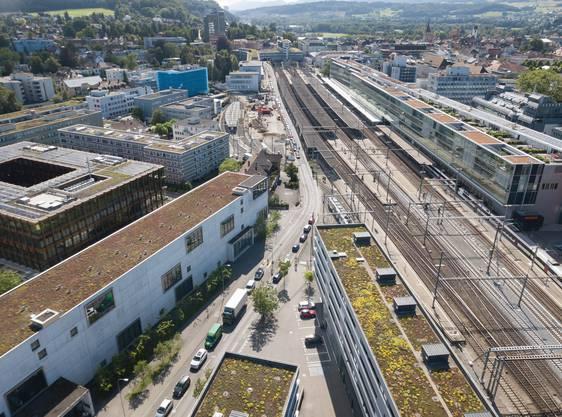 Beeinträchtigt auch die Hintere Bahnhofstrasse.