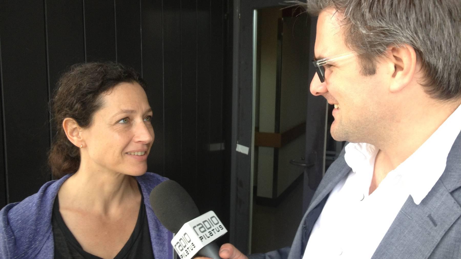 Delia Mayer: Vom Tatort auf die Konzertbühne