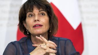 2017 wird Doris Leuthard zum zweiten Male Bundespräsidentin. Der Aargau wird dies feiern.