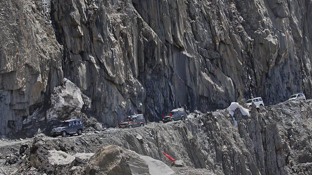 Indische Soldaten im Himalaya - China fordert deren Teilabzug. (Archivbild)