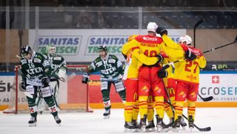 Eishockey, Swiss League, 6. Runde, EHC Olten - HC Sierre (17.10)