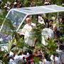 Papst Franziskus am Montag in Port Luis auf Mauritius.