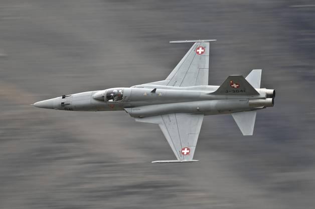 Von den 110 beschafften F-5-Tiger sind heute noch 24 im Einsatz.