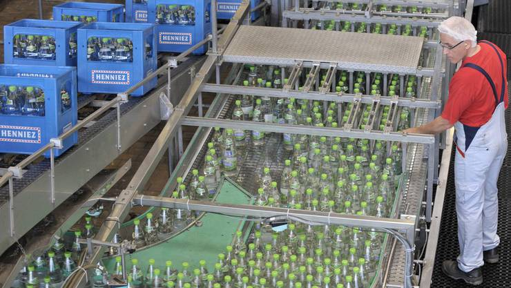 Nestlé soll für Wassermangel in Vittel verantwortlich sein. (Archiv)