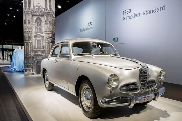 Der Alfa Romeo 1900 im Eingangsbereich