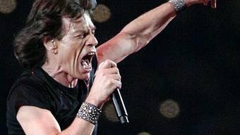 Mick Jagger (Archiv)