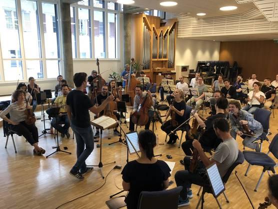 Noch probt das Festivalorchester, aber ab heute Donnerstagabend geht es los: Bis Sonntag, dem 9. September stehen fünf wunderbare Konzerte auf dem Programm.
