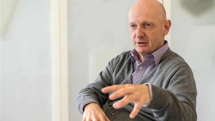 Martin Blaser, Direktor Marketing und Verkauf beim FC Basel.