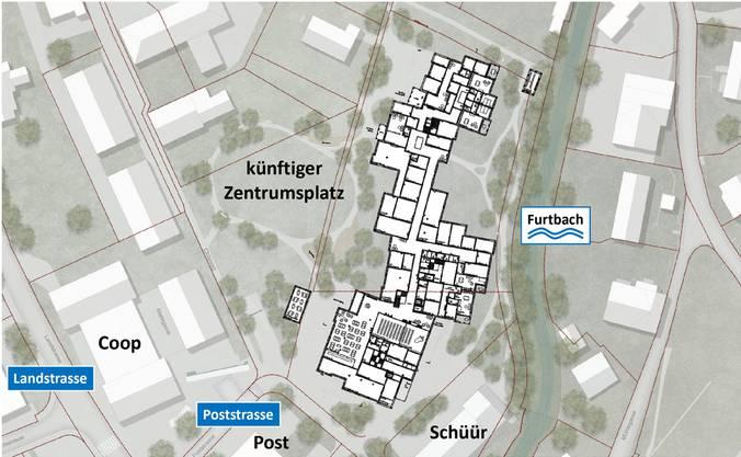 So wird das Alterszentrum in die Umgebung eingebettet.