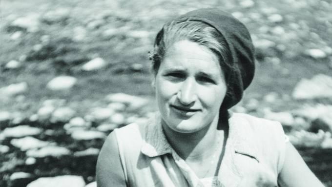 Greti Caprez hat als eine der ersten Frauen in der Schweiz Theologie studiert. (Bildquelle: Nachlass Greti Caprez)