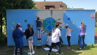 Projektwoche zum Thema «Bunt ist cool!» an der Kreisschule Recherswil-Obergerlafingen (REOG)