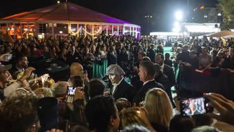 Internationale Stars wie der US-Schauspieler Johnny Depp zogen die Massen an. (Archivbild)