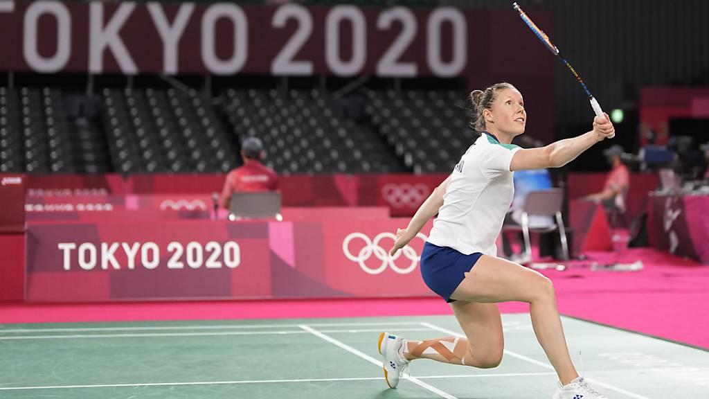 Sabrina Jaquet beendet Karriere mit Niederlage