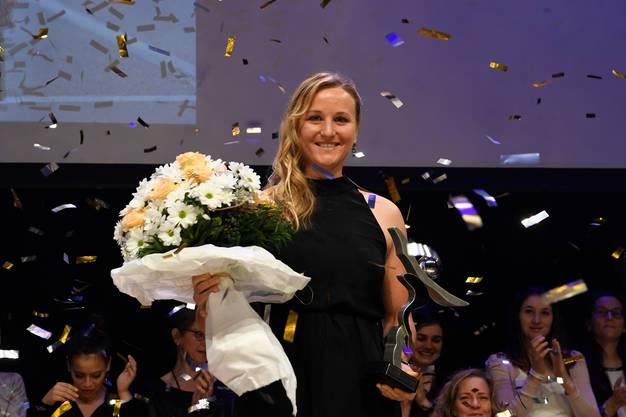Die Aargauer Sportlerin des Jahres 2017: Kathrin Stirnemann.