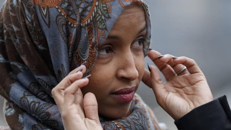 Im Zentrum der Kritik: die demokratische Abgeordnete Ilhan Omar.