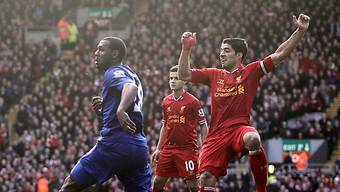 Luis Suarez glänzte einmal mehr als Liverpools Torgarant.