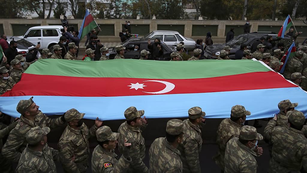 Berg-Karabach: Aserbaidschan übernimmt Kontrolle über weitere Region