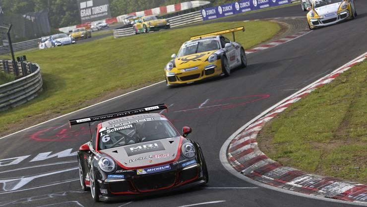 Jeffrey Schmidt unterwegs auf dem Nürburgring.