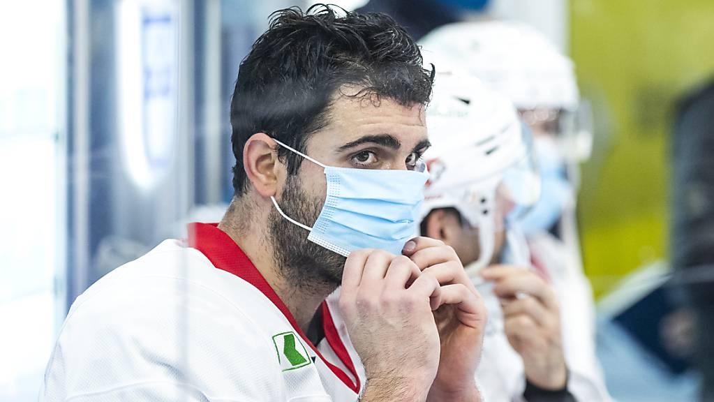 Lausannes Mark Barberio mit Schutzmaske. (Archivaufnahme)