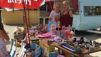 Kinder-Flohmarkt 2017.