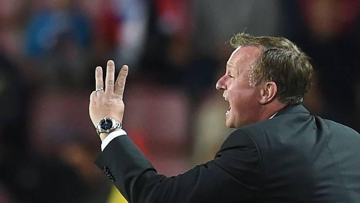 Volle Hingabe: Nordirlands Nationaltrainer Michael O'Neill kennt keine halben Sachen